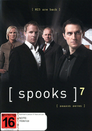 Spooks - Season 7 (4 Disc Set) on DVD
