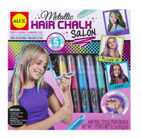 Alex: Style Hair - Metallic Hair Chalk Salon