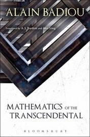 Mathematics of the Transcendental by Alain Badiou