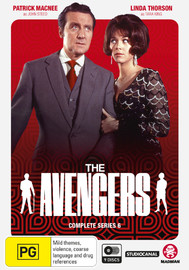 The Avengers - Complete Series 6 on DVD