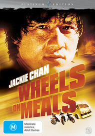 Wheels On Meals - Platinum Edition (Hong Kong Legends) (2 Disc Set) on DVD image