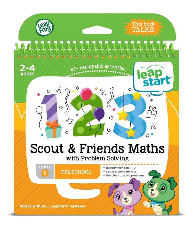 Leapstart: Scout & Friends Math - Activity Book (Level 1)