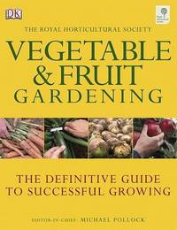 RHS Vegetable and Fruit Gardening by Louisa May Alcott image