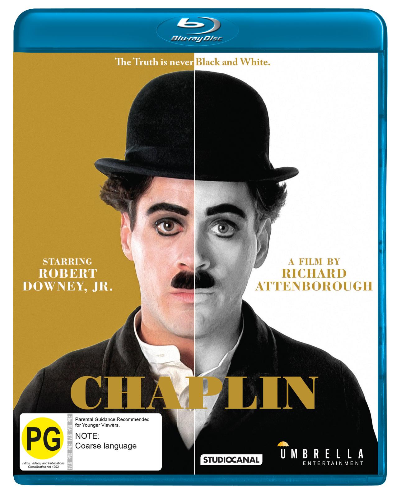Chaplin on Blu-ray image