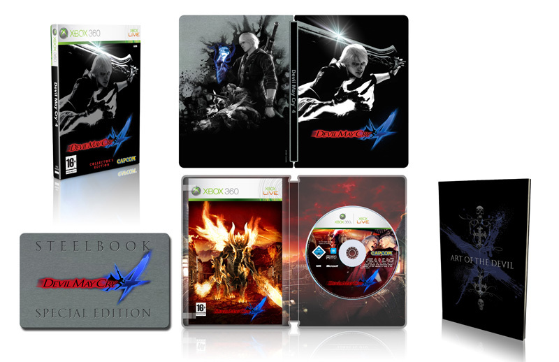 Devil May Cry 4: Collector's Edition for Xbox 360 image