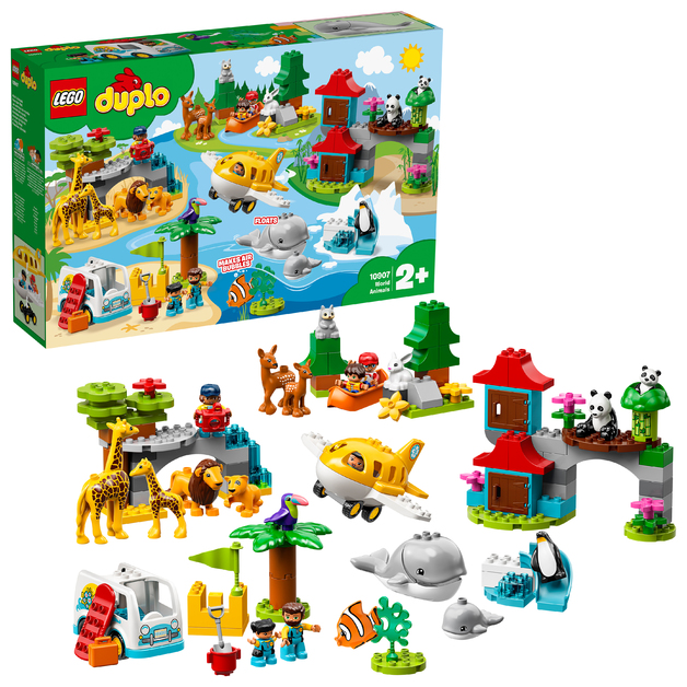 LEGO DUPLO: World Animals - (10907)