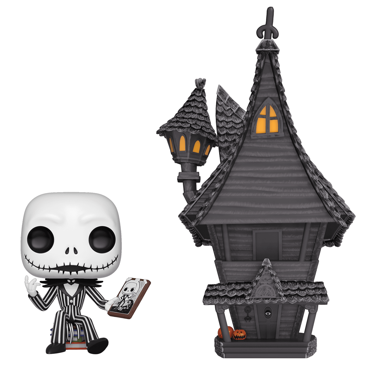 The Nightmare Before Christmas - Jack Skellington's House Pop! Town Diorama Set image