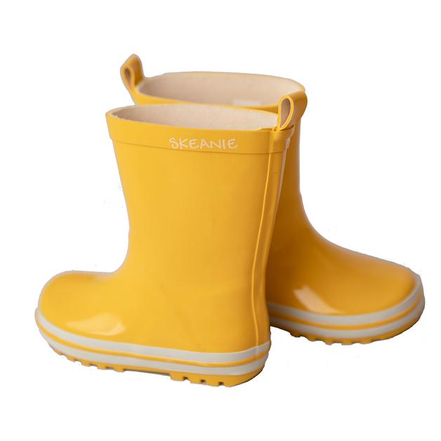 Skeanie: Kids Gumboots Yellow - Size 28