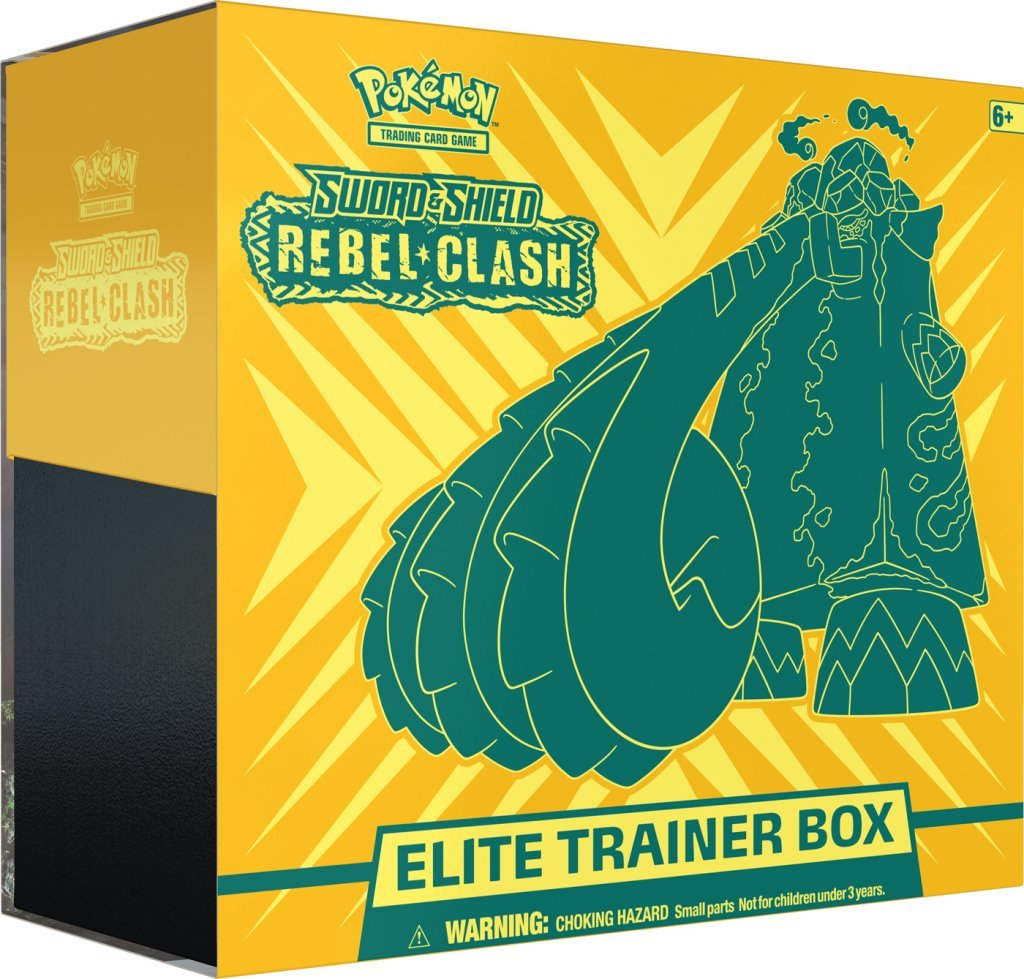 Pokemon TCG: Sword and Shield - Rebel Clash Trainer Box image