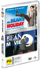 Mr Bean Double Pack (Mr Bean's Holiday / Bean - The Ultimate Disaster Movie) (2 Disc Set) on DVD image