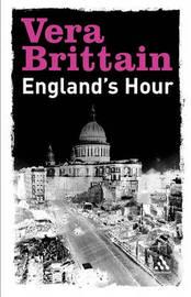 England's Hour by Vera Brittain image