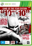 Batman: Arkham City Game of the Year Edition for X360