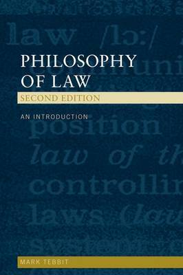 Philosophy of Law by Mark Tebbit
