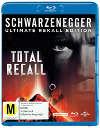 Total Recall - Ultimate Edition on Blu-ray