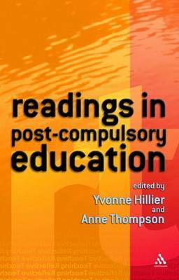 Readings in Post-Compulsory Education by Yvonne Hillier image