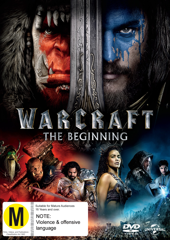 Warcraft: The Beginning on DVD image