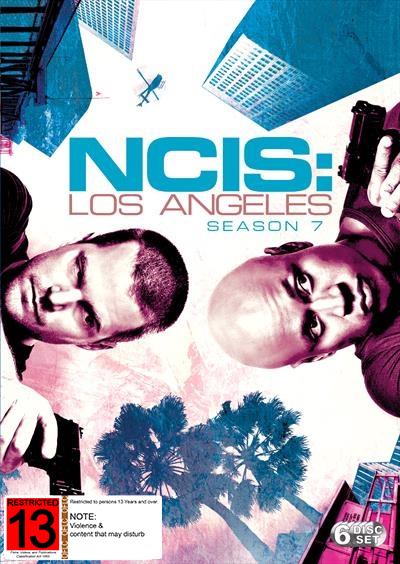 NCIS Los Angeles - Season 7 on DVD image