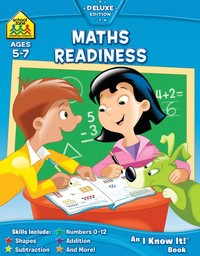 School Zone Maths Readiness I Know It Book