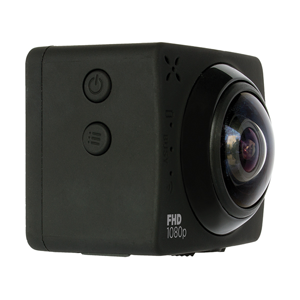 3SIXT Full HD 360° WiFi Sports Action Camera 1080P image