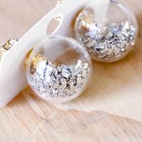 Short Story: Fantasy Bubble Earrings - Confetti Silver