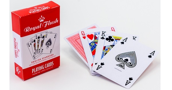 Royal Flush: Playing Cards - Red