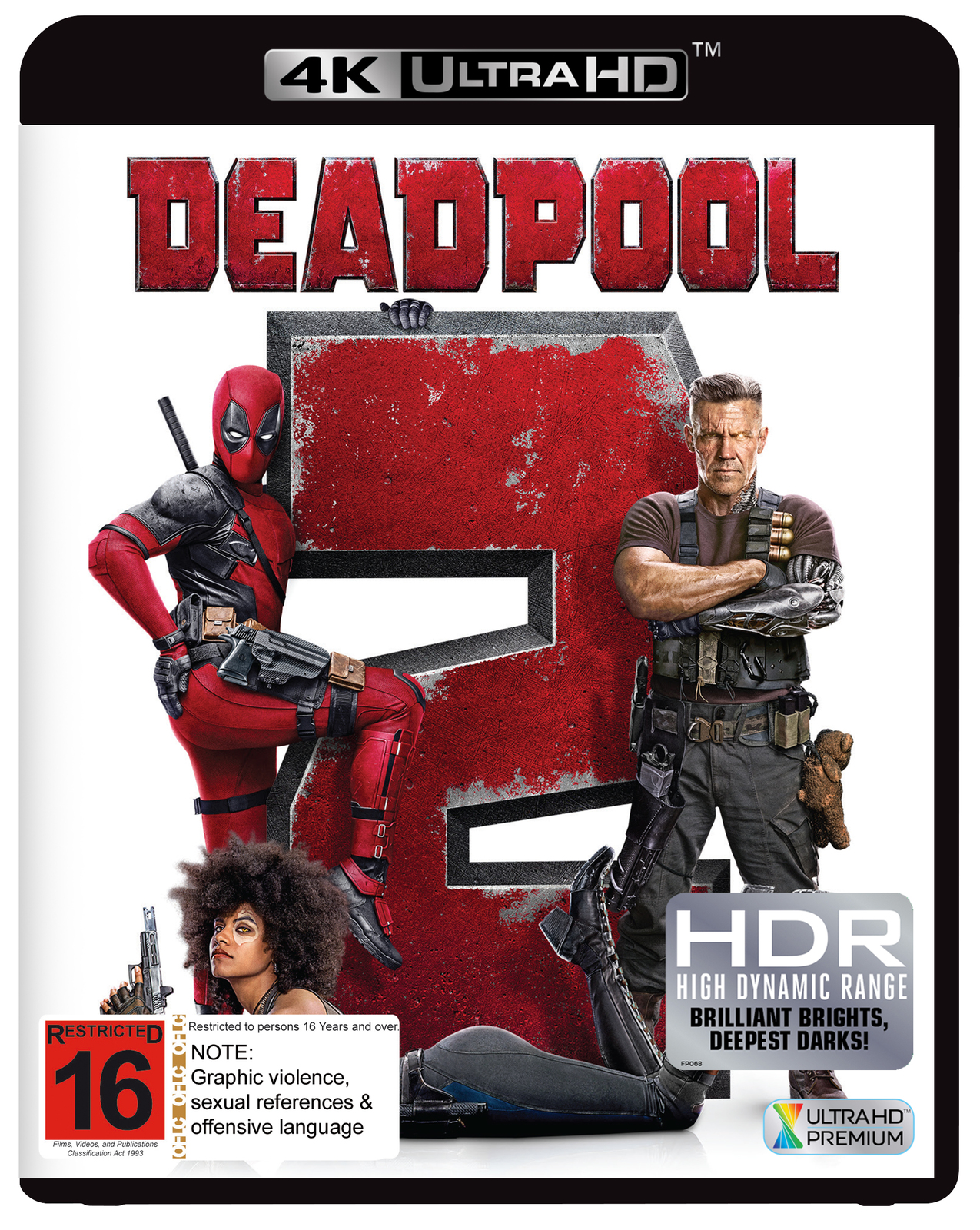 Deadpool 2 on UHD Blu-ray image