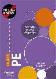 Need to Know: Higher PE by John Millar