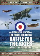 Authorised History Of The Royal Air Force, The: Vol 2 - The Sky's The Limit (2 Disc) on DVD