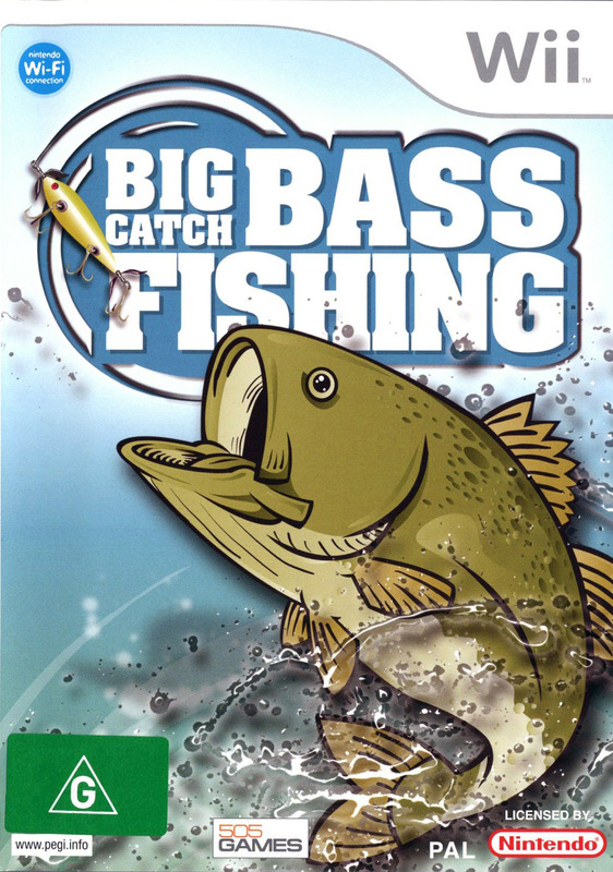 Big Catch Bass Fishing for Nintendo Wii
