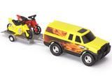 Tonka Motorcycle Off-Road Adventure Set (Yellow)
