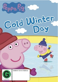 Peppa Pig: Cold Winter Day on DVD