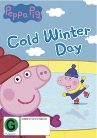 Peppa Pig: Cold Winter Day on DVD