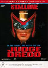 Judge Dredd on DVD
