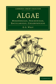 Cambridge Library Collection - Botany and Horticulture Algae: Volume 1 by G.S. West