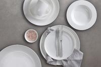 Maxwell & Williams White Basics Diamonds Low Teacup & Saucer (250ml) image