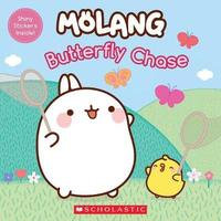 Molang: Butterfly Chase by Lana Crespin
