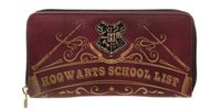 Harry Potter Hogwarts School Zip Around Wallet