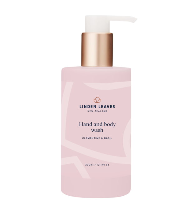 Linden Leaves: Hand & Body Wash - Clementine & Basil (300ml)