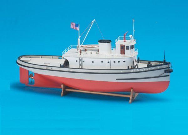 Billing Boats 1/50 Hoga Pearl Harbour Tugboat (Advanced Beginner) Model Kit