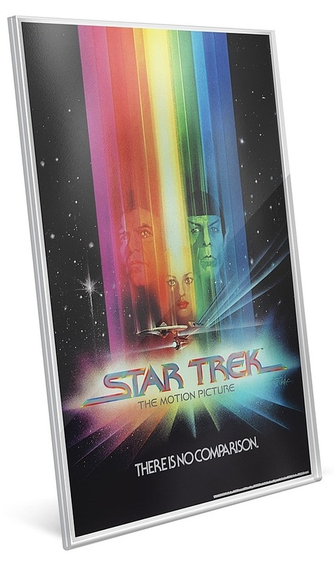 NZ Mint: Star Trek - Pure Silver Foil - The Motion Picture (35g Silver)