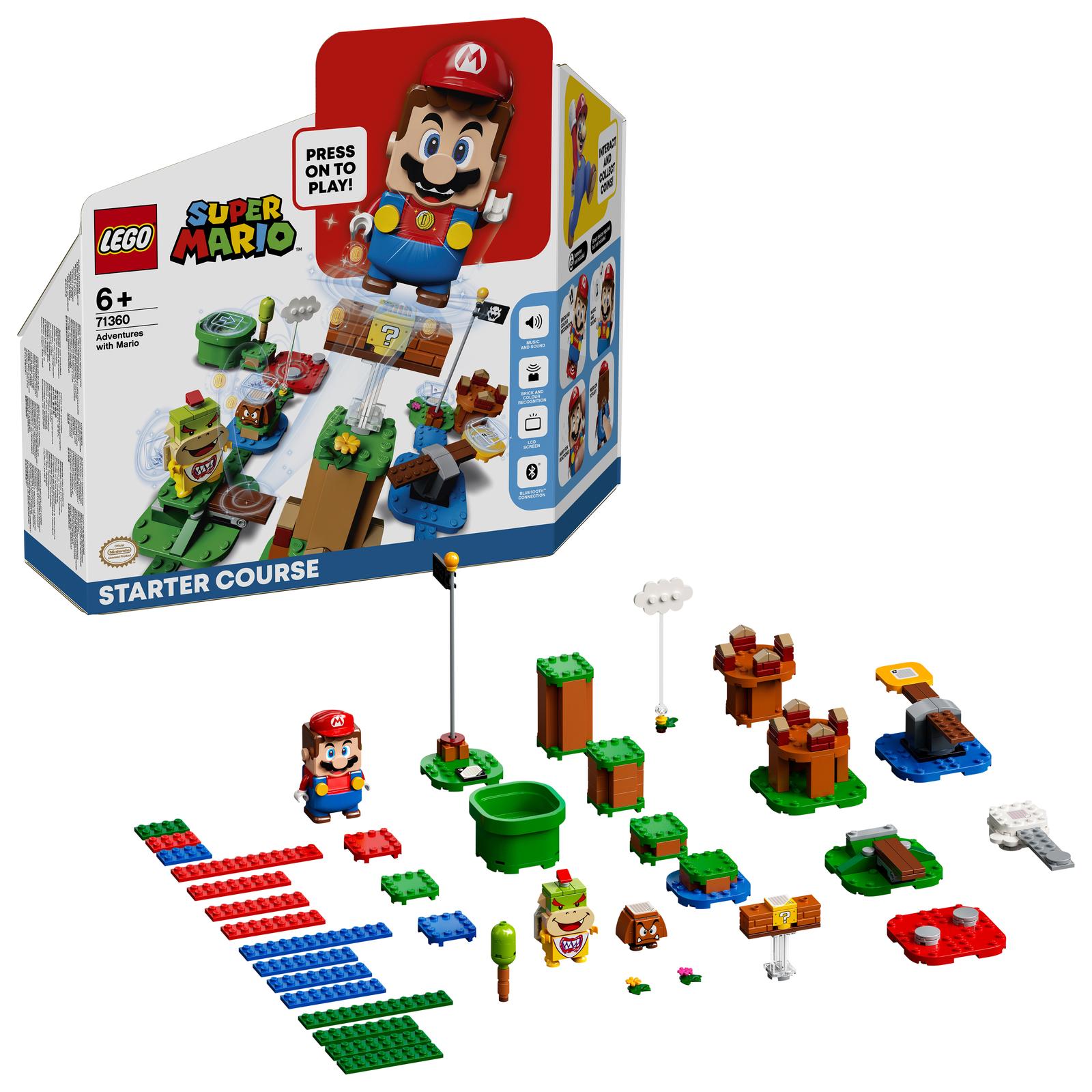LEGO Super Mario: Adventures with Mario - Starter Course (71360) image