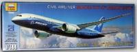 Zvezda: 1/144 Boeing 787 Dreamliner Model Kit