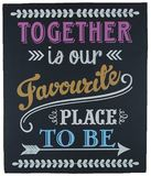 Together Is Our Favorite Place To Be Box Frame