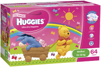 Huggies Ultra Dry Nappies: Jumbo Pack - Walker Girl 13-18kg (64)