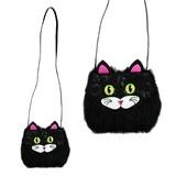 Pink Poppy Furry Friends Shoulder Bag - Cat