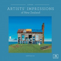 Artists' Impressions of New Zealand 2018 Square Wall Calendar