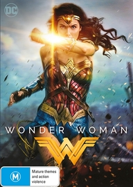 Wonder Woman (2017) on DVD image