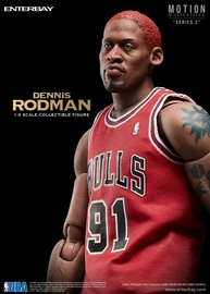 NBA: Dennis Rodman - 1/9 Scale Action Figure