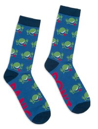 Out of Print: Hitchhikers Guide - Men's Crew Socks