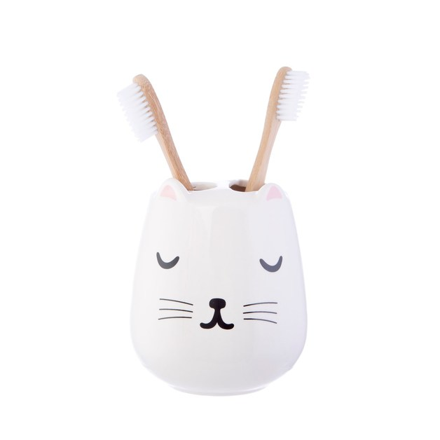 Cutie Cat Toothbrush Holder